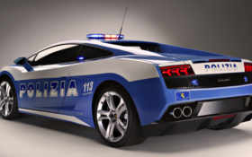 police, car