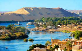 Нил, Луксор, Каир, речка