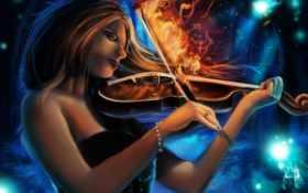 скрипка, скрипка, магия