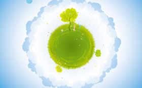 earth, green