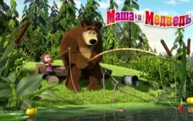 маша и медведь Фон № 4281 разрешение 1680x1050