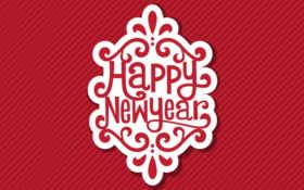 year, new Фон № 31524 разрешение 1600x900