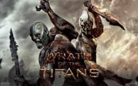 титанов, гнев, titans