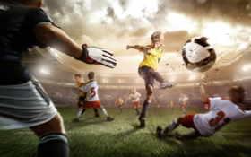 футбол, спорт Фон № 5383 разрешение 2560x1600