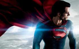 стальной, мужчина, superman