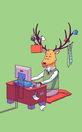 ,, мультфильм, млекопитающее, олень, позвоночное животное, северный олень, искусство, иллюстрация, вымышленный персонаж, организм, картинка, художник, цифровое искусство, произведение искусства, дизайн, художественная выставка, digital illustration