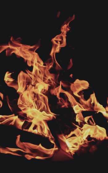 пламя,