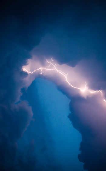 ,, небо, облако, атмосфера, синий, природа, дневной, гроза, молния,