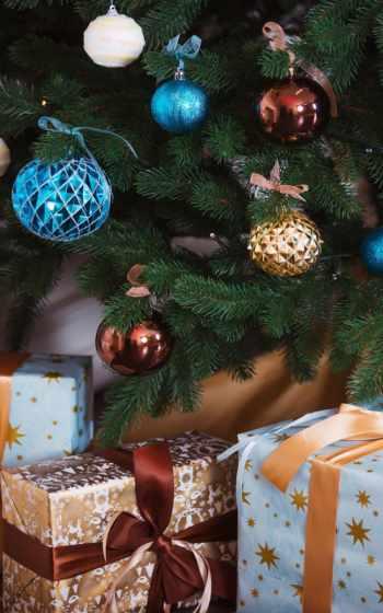 christmas, дерево,