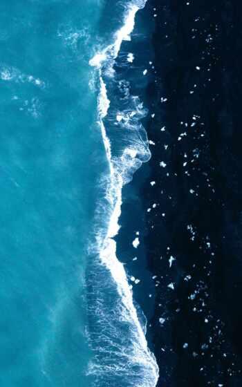 море, кросс, stitch, art, ocean, закат