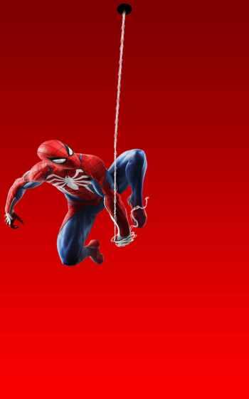 мужчина, паук