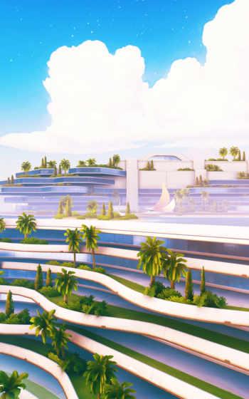 landscape, natural, garden,