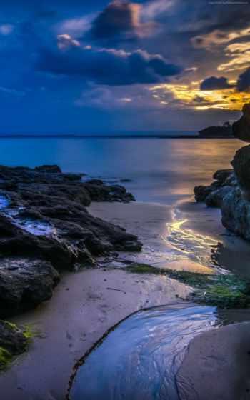 ocean, море, закат, summer, water, облако, вечер, images,