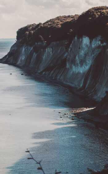 ipad, air, море, природа, побережье, dark, art, пляж, закат