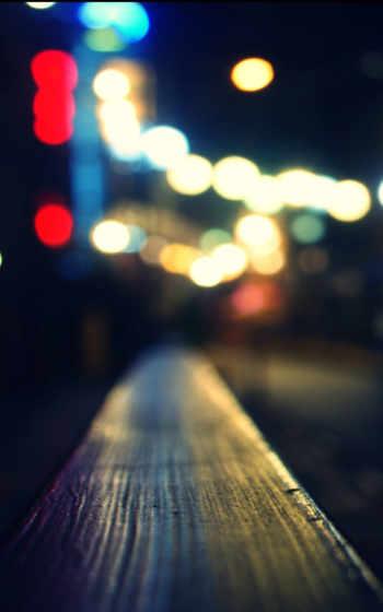 размытость, телефон, ночь, source, love, pic, огни,