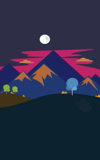,, иллюстрация, графический дизайн, небо, горы