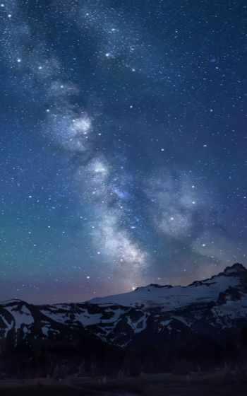 путь, млечный, free, stars, high, природа, desktop,