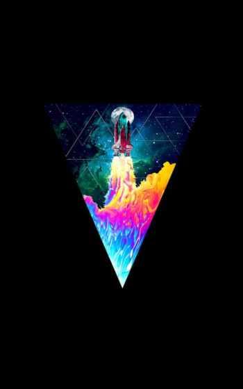 ,, графический дизайн, иллюстрация, графика, ракета, шаттл, треугольник