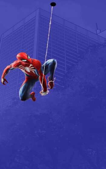 паук, мужчина