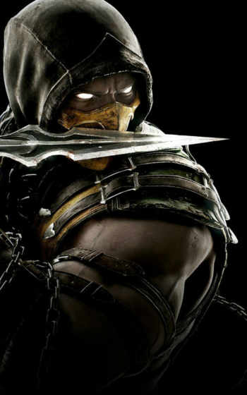 ios, somente, personagens, nível, ouro, androide, iphone, kombat, mortal,