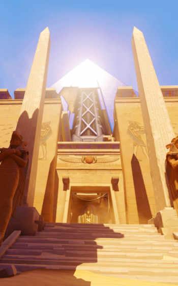 египетский, temples, were, старинный,