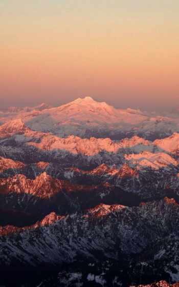 plus, гора, снег, природа, закат, shadow, daily, case