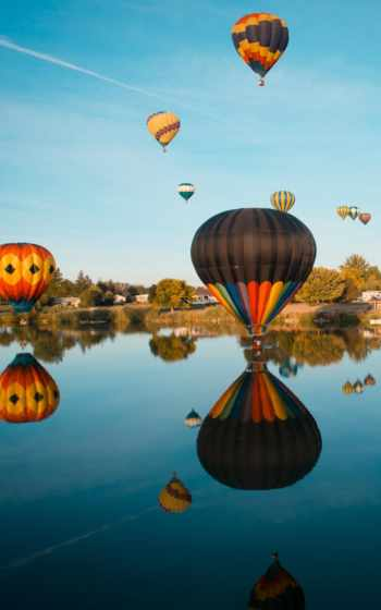 air, hot, ballooning,