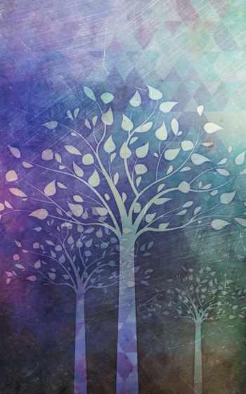 ,, дерево, зеленый, небо, синий, фиолетовый,  лист, древесные растения,