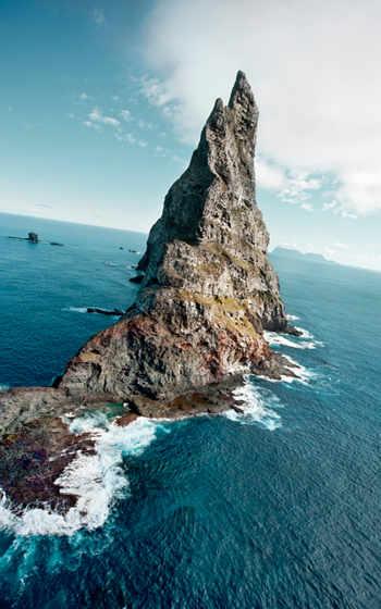 rock, promontory,