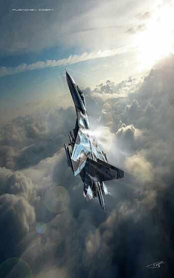 военный, авиация, plane, истребитель, art, оружие