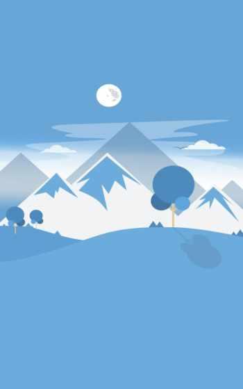 снег, синий, небо, дневной, иллюстрация, вода, облако,