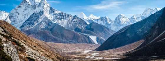 dablam, ama, himalaya, mountains,