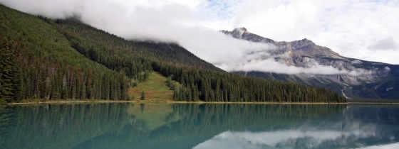 озеро, горы, небо,облака,