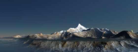 mountains, гора, антарктида, небо, озеро, clouds, природа,