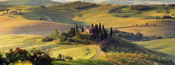italian, landscape, терме, италии, холмы, sana, отдых, природа, италию, осень,