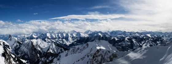 небо, mountains, природа, desktop, images,