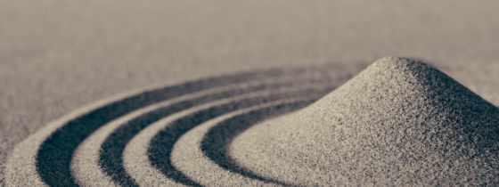 песок, макро, desktop, фото, waves, круги,