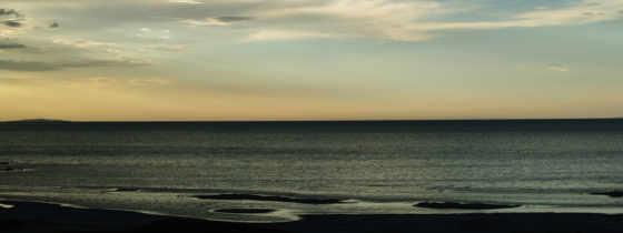 dark, небо, море, blue, со, share,