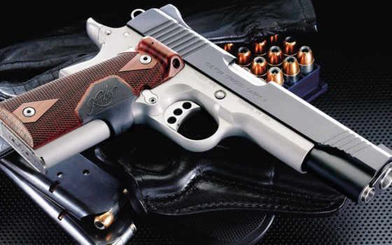 оружие, пистолет, патроны, кобура, картинка, картинку, kimber, carry, обоймы, crimson, custom,