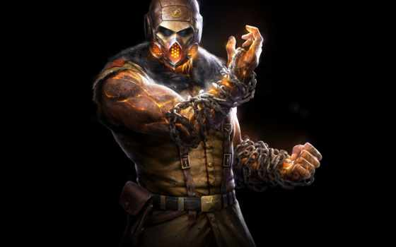 mortal, kombat, ninja