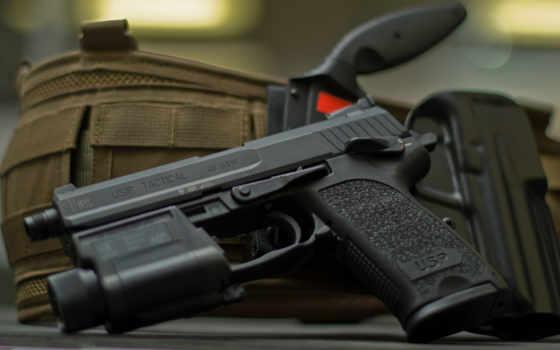 usp, tactical, mdh, closeup, heckler, koch, riggers, pistol,