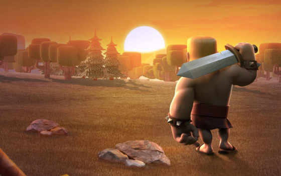 clash, clans, barbarian, royale, barbarians, today, games,