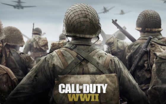 колл, duty, wwii, war, world, прохождение, games, мультиплеера,