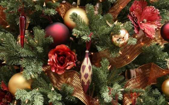 новогодние, елки, елку