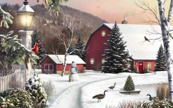 новогодние, смс, дек, пейзажи -, сообщения, цитатник,