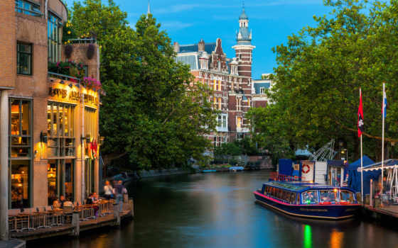 amsterdam, город, столица