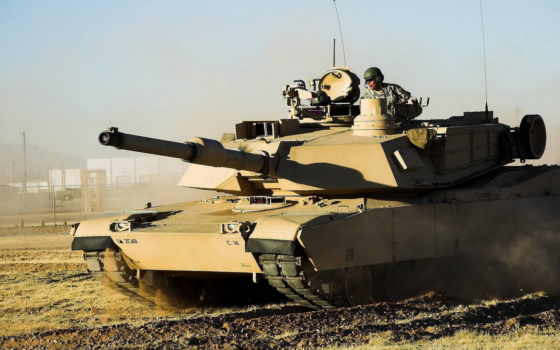 абрамс, танк, оружие