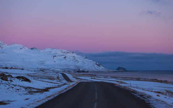 коллекция, снег, iceland