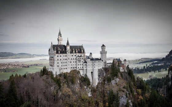 нойшванштайн, castle, германию, германия, stock, дворец, бавария, visa, fotografias,