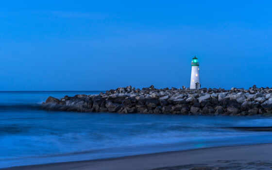 lighthouse, море, audistream, небо, smartphone, устройство, компьютер, камень, планшетный